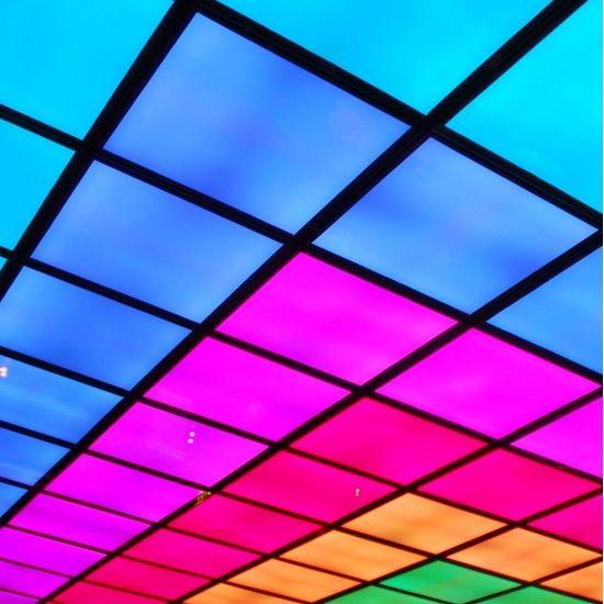 LED panel RGB square lighting colours 30W 600x600mm | Myplanetled