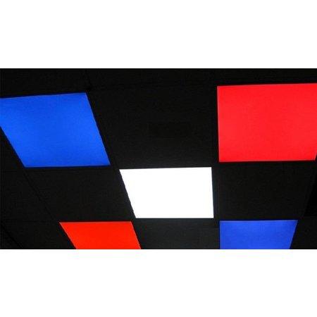 LED panel RGB square lighting colours 30W 600x600mm