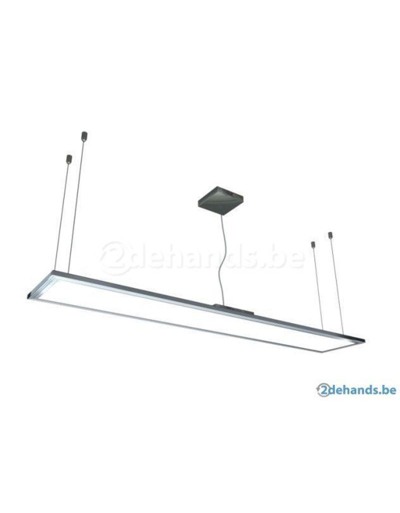 Dalle led plafond 30x120cm plafond suspendu 40w myplanetled for Dalle plafond design