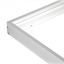 Câdre apparent pour dalle LED 30x120