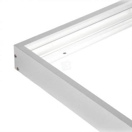 Built-up frame for LED panel 30x120