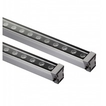LED bar 18W 1m zwart