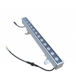LED bar 18W 1m black-grey