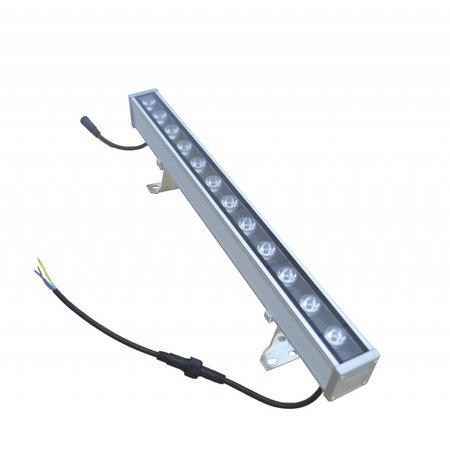 LED bar 18W 1m zwart-grijs