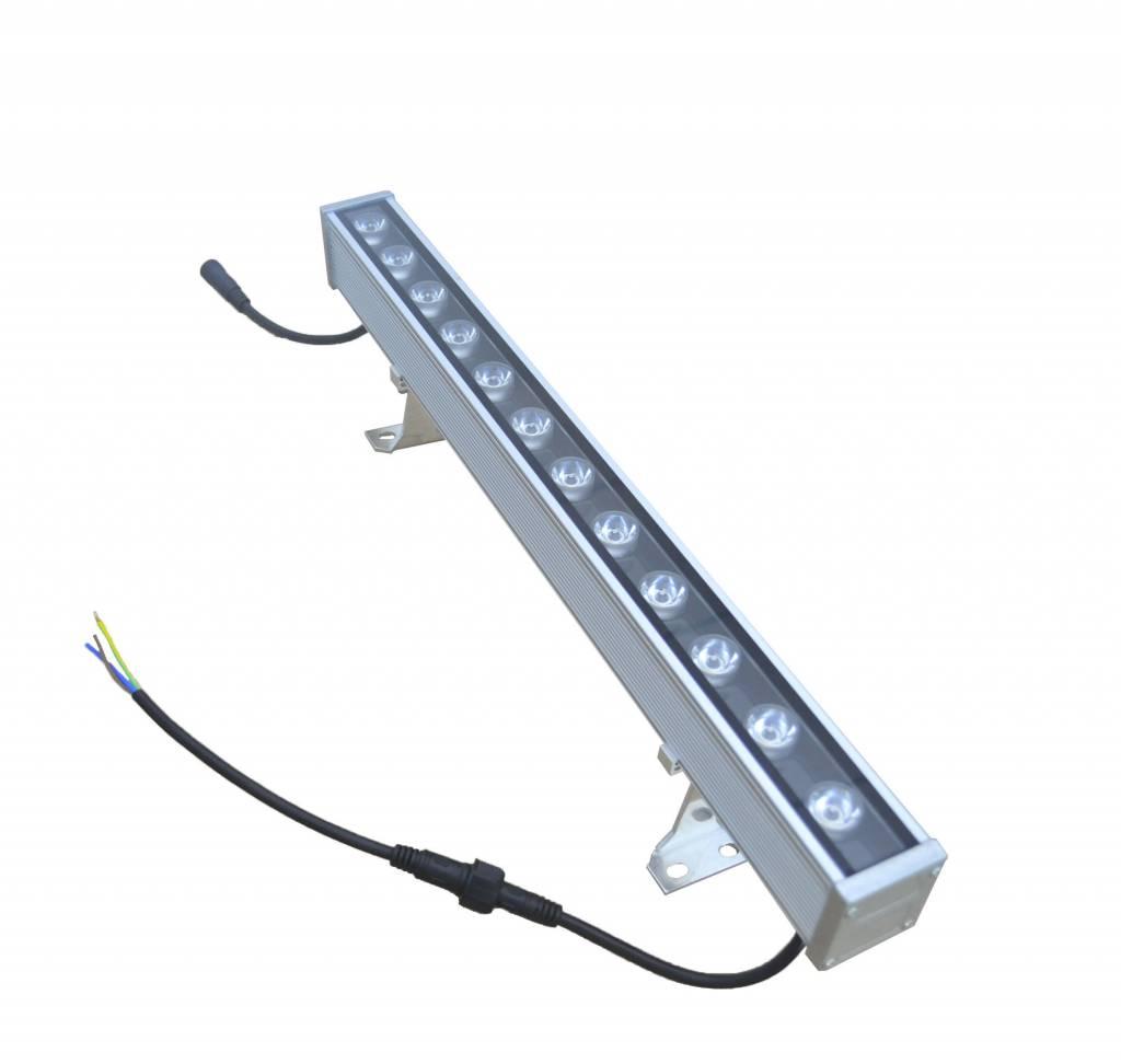 LED bar 18W 1m black-grey