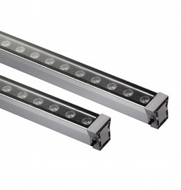 LED bar 24W 1m zwart