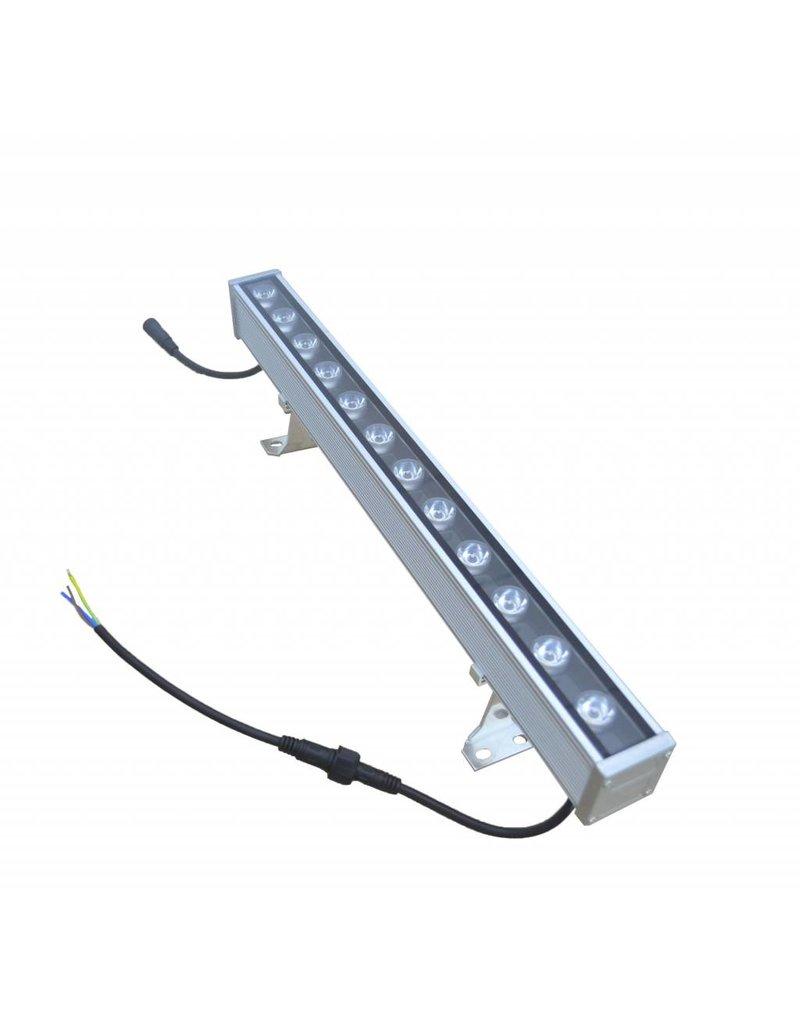 LED bar 24W 1m black-grey