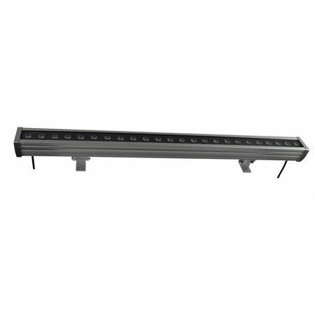 Bar LED 24W 1m noir-gris-foncé