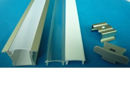 LED profile built-in 1m long 12mm wide with plexi 11mm high