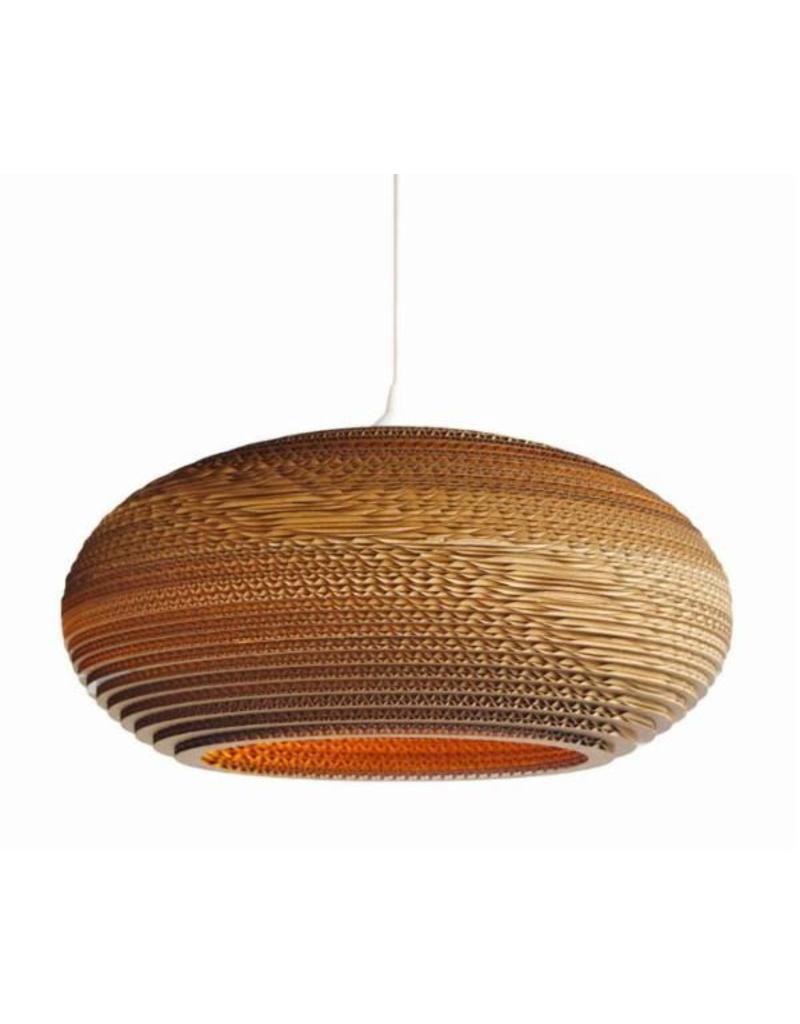 hanglampkarton wit of beige design bol Ø cm e  myplanetled, Meubels Ideeën