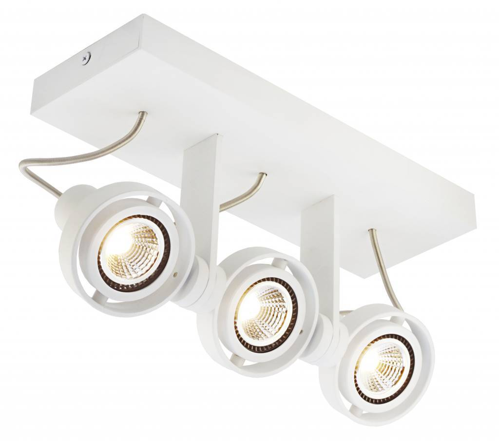 Plafondlamp led dimbaar gu10 3x4 5w 286mm breed myplanetled for Plafondverlichting