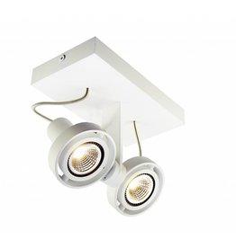 plafondlamp led dimbaar gu10 3x4 5w 286mm breed myplanetled. Black Bedroom Furniture Sets. Home Design Ideas