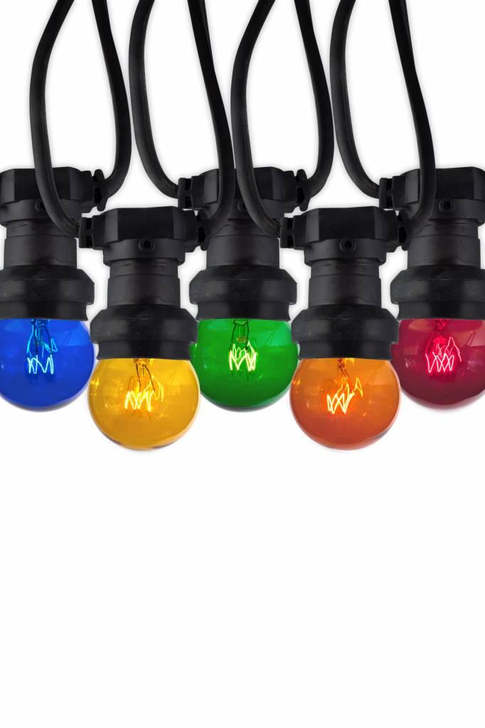 Verlichting online / Gekleurde lampen buiten 10x LED IP44