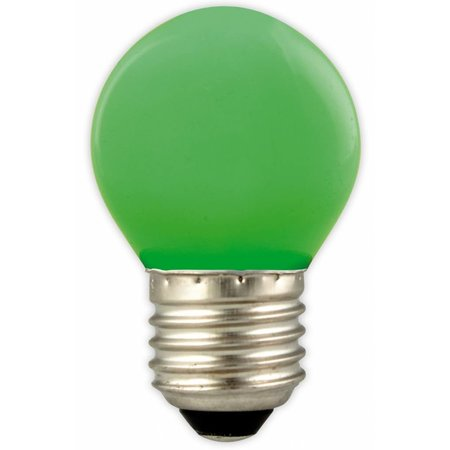LED ball lamp color E27 1W (blue, yellow, green, orange, red)