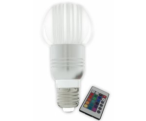 Gekleurde Led Lampen : Gekleurde led lamp rgb e w myplanetled