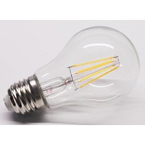 LED lamp E27/E14 dimbaar kooldraad 4W