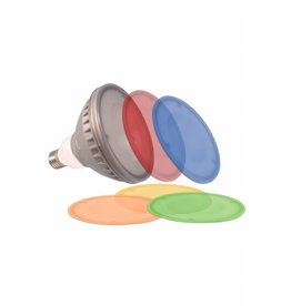 LED light bulb color PAR38 18W with different color pads