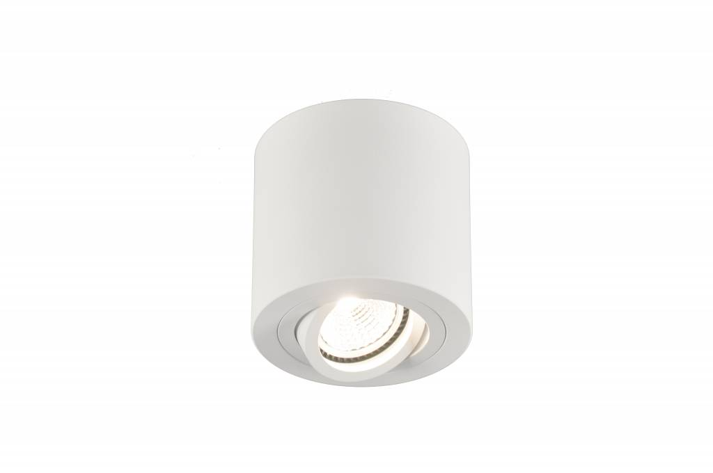 Ceiling light GU10 black, grey or white round GU10 90mm