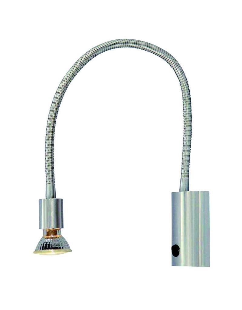applique murale lampe de lecture flexible gu10 665mm haut myplanetled. Black Bedroom Furniture Sets. Home Design Ideas