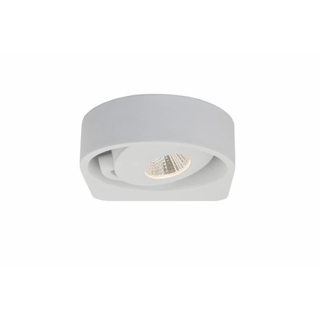 Wall light design white orientable 1x5W 149mm wide