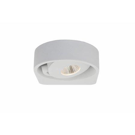 Wandlamp woonkamer led wit richtbaar 1x5w 149mm myplanetled for Wandlamp woonkamer