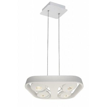 Pendant light design white LED 4x10W 442mmx372mm
