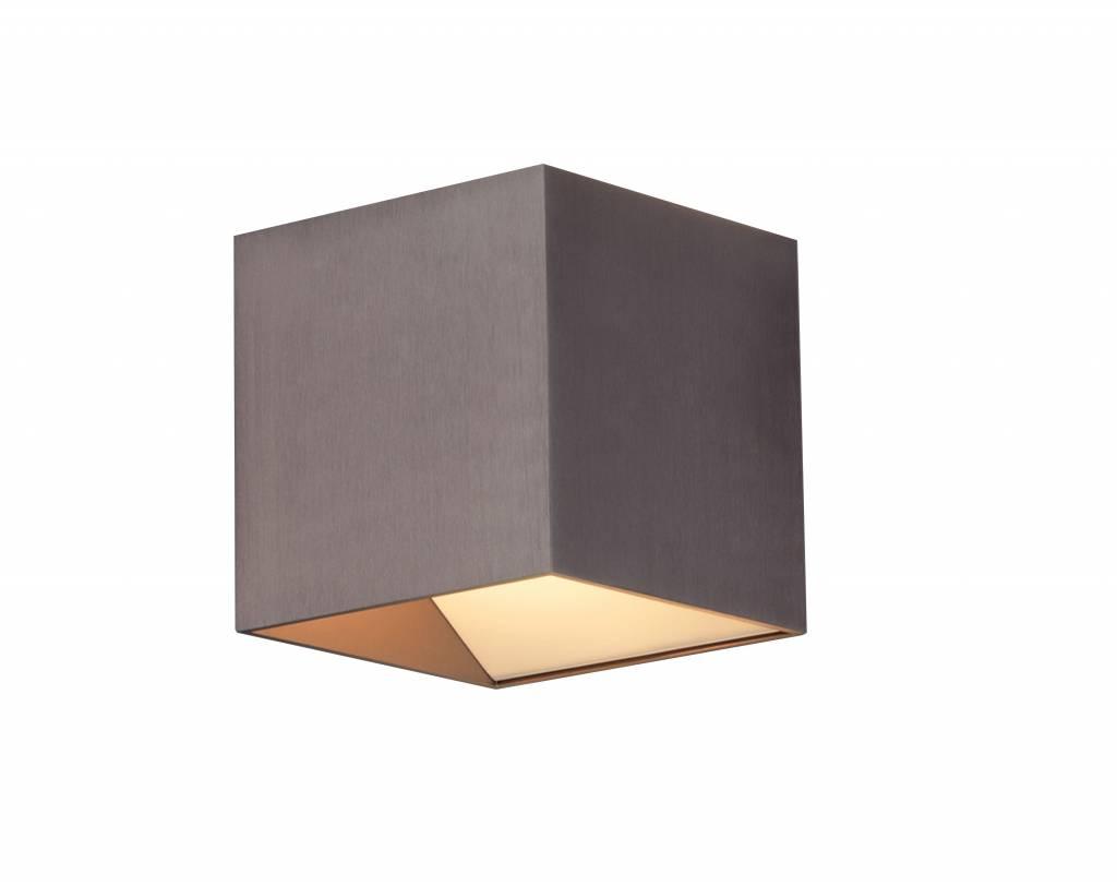 Design Wandlamp Slaapkamer : Wandlamp led vierkant bruin down w mm hoog myplanetled