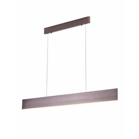 Pendant light modern LED brown, black, white 26W 1200mm