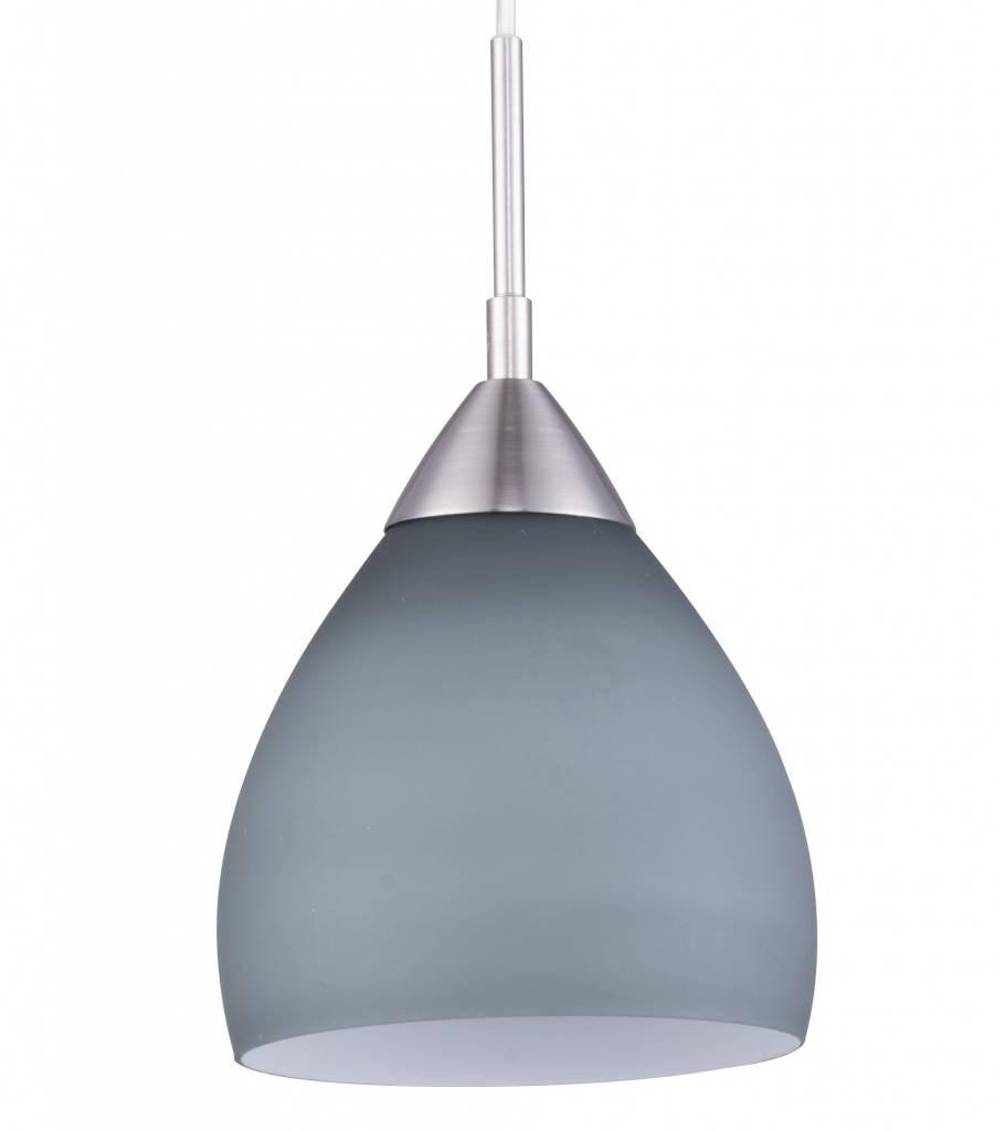 Luminaire suspendu verre blanc gris rouge pourpre e27 for Luminaire suspendu blanc
