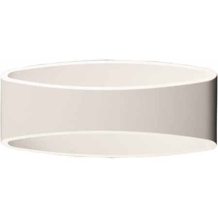 Wall light design LED black gold, white, grey 5W 175mm wide
