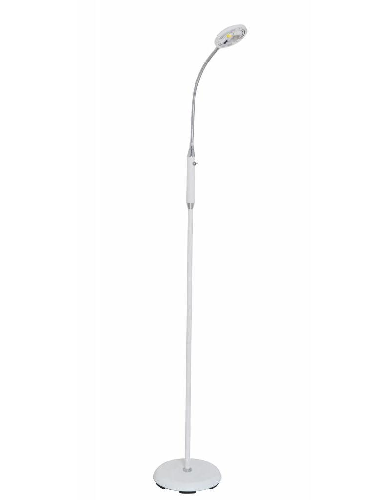 Floor lamp black-white-bronze-grey LED foldable 5W 1400