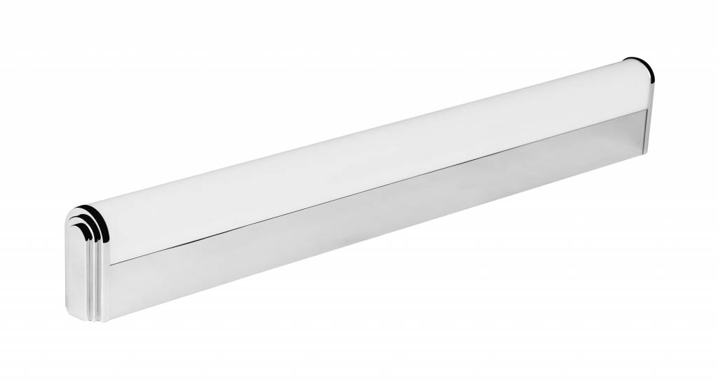 Wandlamp badkamer LED chroom plexi 12W 610mm lang IP44 | Myplanetled