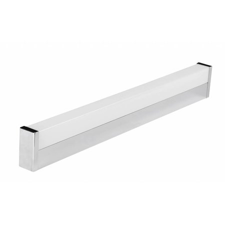 Applique murale LED salle de bain anguleuse 12W IP44 600mm long