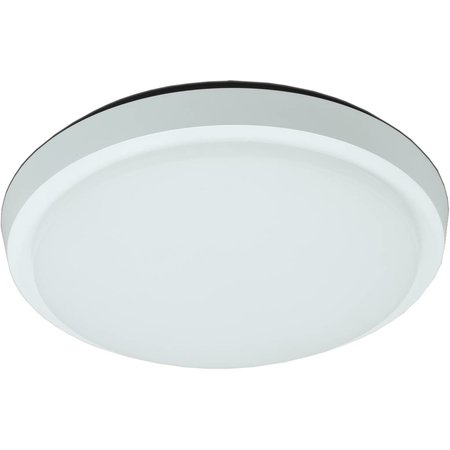 Plafondlamp LED badkamer glas mat 20W LED IP44 203mm