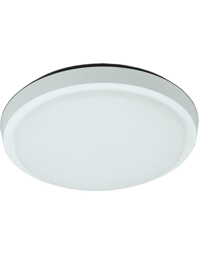 Plafondlamp LED badkamer glas mat 20W LED IP44 203mm - Myplanetled