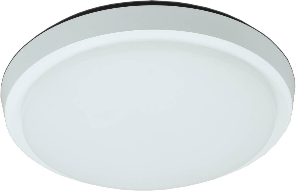 Plafonnier LED salle de bain verre mat 30W LED IP44 254mm   Myplanetled