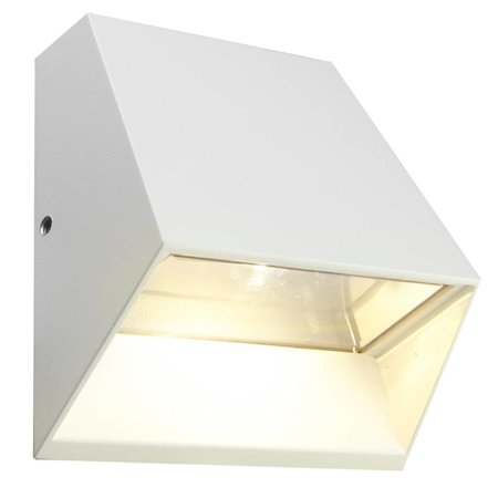 Outdoor wall light LED 6W LED graphite/white/silver/rust IP54 125mm H