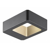 Applique murale design exterieure LED 5W graphite IP54 120