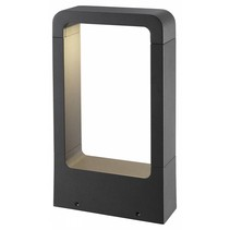 Lampadaire exterieur design LED 5W graphite IP54 300mm