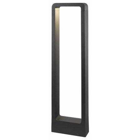 Bollard design LED 5W graphite IP54 650mm high