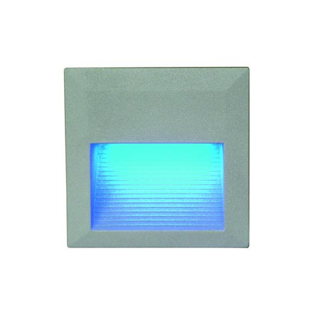 Applique murale LED encastrable carrée 0,6W LED IP54 125mm
