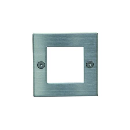 Wall light LED built-in square frontal 0,45W LED IP54 71mm