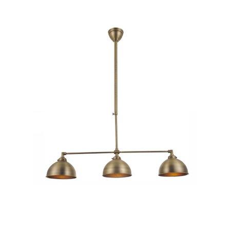 luminaire suspendu argent bronze abat jour non compris 3xe27 myplanetled. Black Bedroom Furniture Sets. Home Design Ideas