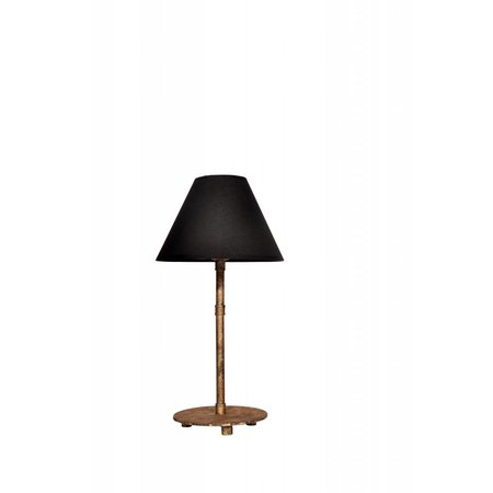 Table lamp bronze lamp shade not included 1xE27 380mm high