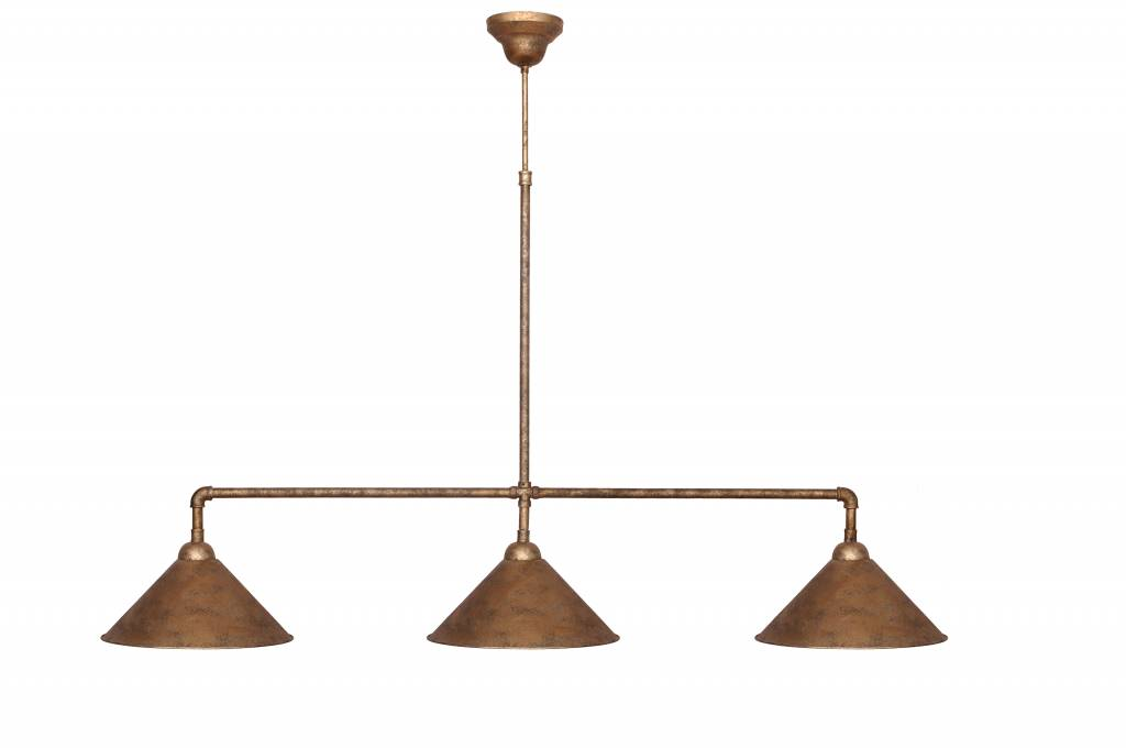 Pendant light bronze lamp shade not included 3xE27 1090mm wide