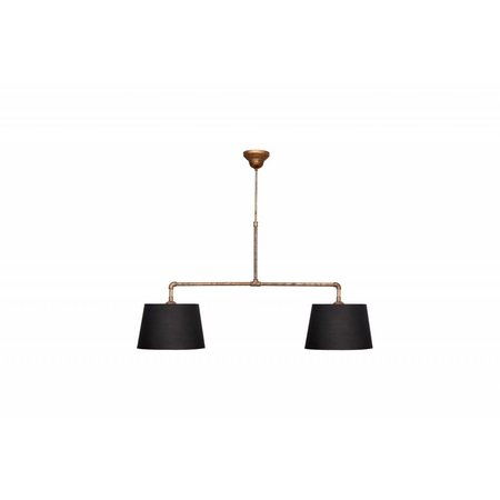 Pendant light bronze lamp shade not included 2xE27 810mm wide