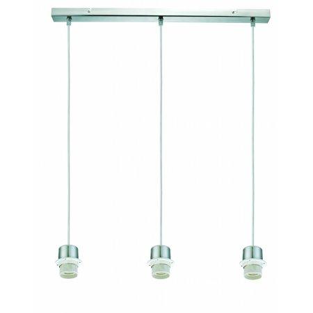 Luminaire suspendu rectangulaire gris 640mm large pour ARM-303