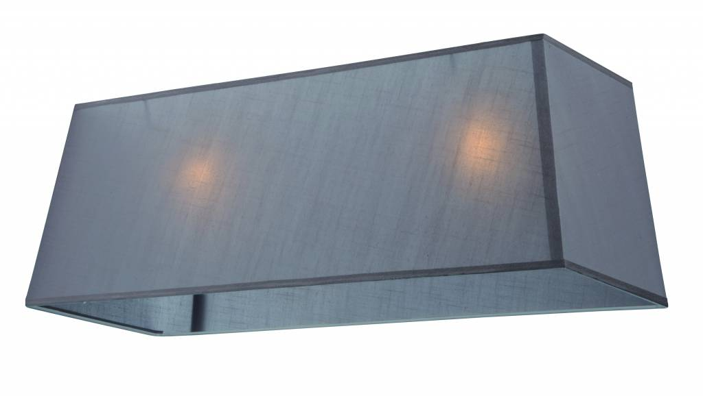 Lamp shade fabric rectangular 1000mm ecru/black/taupe for ARM-300