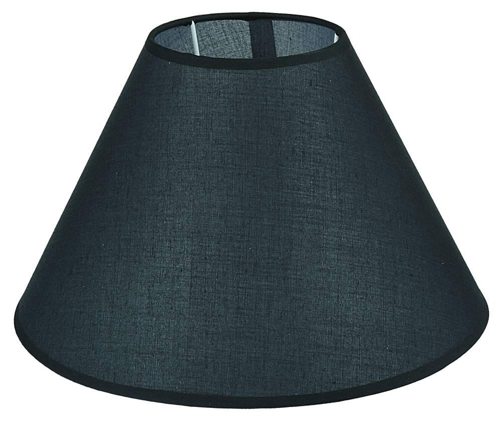Abat jour noir cru taupe tissu conique 300mm pour arm 304 306 myplanetled - Tissu pour abat jour ...