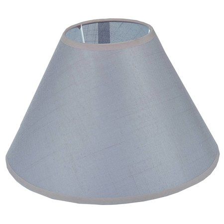 Lamp shade black/ecru/taupe fabric conical 300mm for ARM-304/306